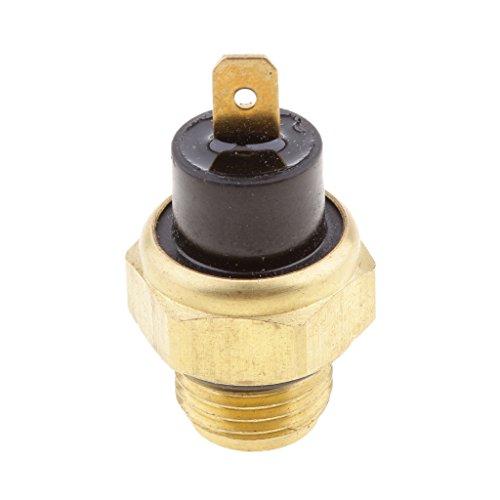 IPOTCH Sensor de Temperatura de 1 Pieza Universalmente Adecuado para Otras Bicicletas Y Motocicletas Interruptor de Ventilador 85 ° Tamaño Del Tornillo: