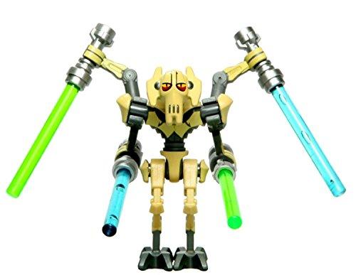 Lego General Grievous Clone Wars - Figura de general Grievous de Star Wars (2,5 x 2,5 x 5,1 cm)