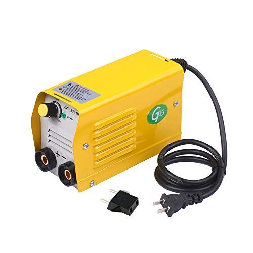 Saldatore inverter, Mini saldatrice inverter portatile, Saldatore ad arco 250Amps IGBT per aste da 2,5-3,2 mm per saldatura elettrica