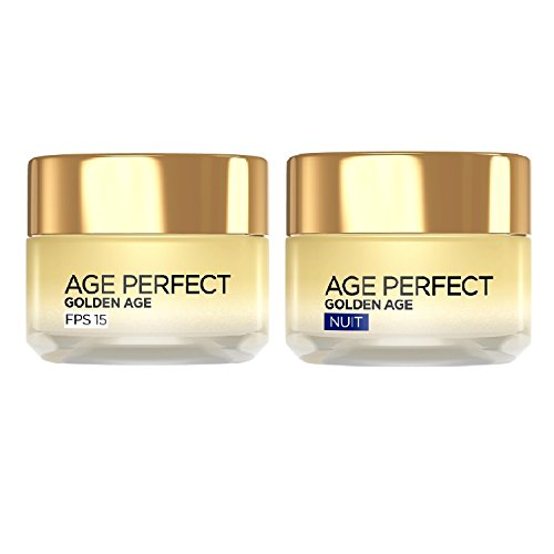 L'Oréal Paris Routine Age Perfect Golden : soin Jour + Nuit