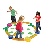 edxeducation Step-a-Forest - in Home Learning Supplies for Kids Physical Play - 22 Piece Obstacle Course - Indoor and Outdoor - Exercise and Gross Motor Skills