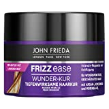 John Frieda Frizz Ease Wunder-Kur - Tratamiento para el cabello de efecto profundo - Contenido: 250 ml - Para cabello rebelde - Reparación y fortalecimiento intensivo