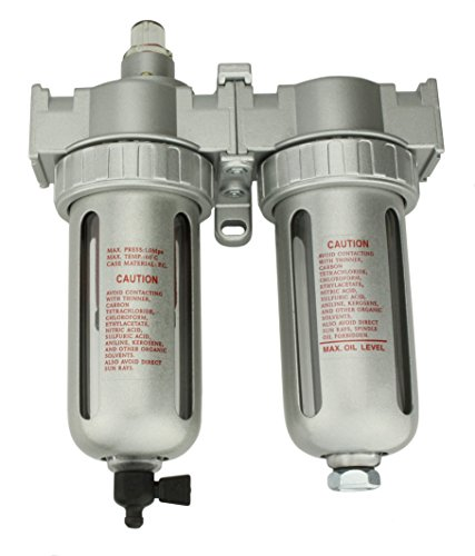"""1/2"""" Compressed air in line filter & desiccant air dryer combination SPRAY GUN EQUIPEMENT PAINT BOOTH COMPRESSOR"""
