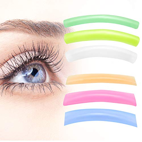 24 Pieces Eyelash Perming Pads Silicone Eyelash Perm Lift Pads Eyelash Curler Refills Pads for Eyelash Lifting, S, M, L