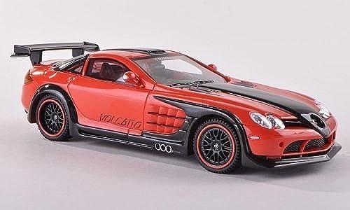 Hamann Volcano, rot-Orange dkl.-anthrazit, limitierte Auflage 300 Stück , 2011, Modellauto, Fertigmodell, Neo Limited 300 1 43