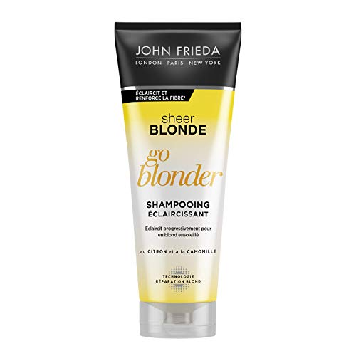 JOHN FRIEDA Sheer Blonde Go Blonder Shampooing Éclaircissant 250 ml