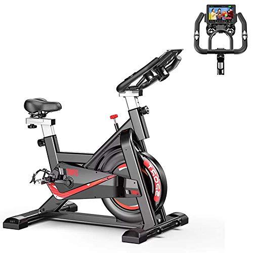 YANGSANJIN Indoor spinning fiets ultra-rustige thuis fiets oefening aerobic oefening trainer, weerstand stoel stuur kan worden aangepast als nFitness beweging