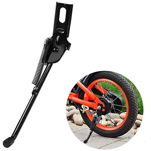 Herasa Kickstand for Kids Bike, 14Inch Bicycle Kickstand Replacement for Training Wheel (Made of Upgraded Version Premium Carbon Steel)