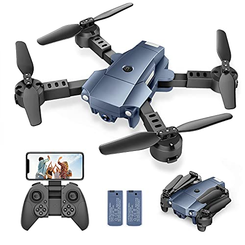 Product Image of the Snaptaⅰn A10 Mini Foldable Drone with 720P HD Camera FPV WiFi RC Quadcopter...