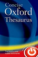 Concise Oxford Thesaurus.