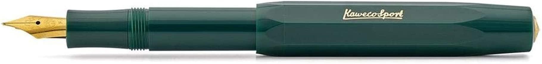Kaweco Sport Classic Fountainpen green M (medium)