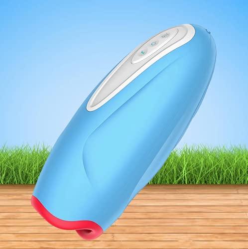ebasic El masajeador de mano eléctrico con función de vibración y calefacción se puede utilizar durante todo el año.
