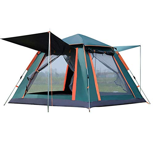 COOLLL Utility Tent, Up Camping Tents, 2-3 Person 4-Season Large Family Waterproof Lightweight Backpacking Tent for Camping Hiking Travel Climbing - Easy Set Up