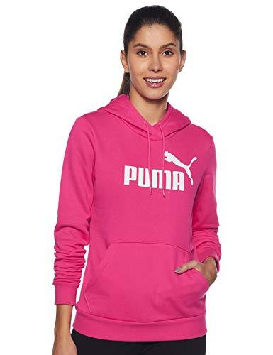 PUMA ESS Logo FL Sudadera, Mujer, Morado (Beetroot Purple), S