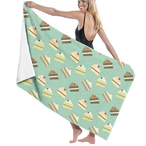 Toallas Shower Towels Beach Towels Bathroom Towels Toalla De Baño Toallas de baño Sweet Cake Swim Toalla 130 x 80 CM