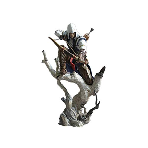 PYCGMH Assassin Is Creed Connor 26cm PVC Action Figure Mobile Figma Model Movie Anime Archetipo Giocattolo Modello Ornamenti Regalo Statua Bambola Anime