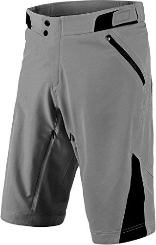 Troy Lee Designs Pantaloni Corti Mtb 2018 Ruckus Shell Gray (32 Vita = Eu 46, Grigio)
