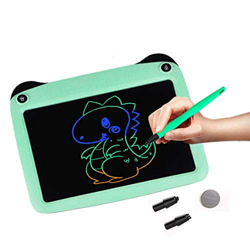 """JRD&BS WINL 9"""" LCD Tablero De Escritura A Mano para Niños De 4-9 Años,Regalos para Adolescentes,Juguetes Populares para Niños Y Niñas De 5 A 13 Años Niños,Verde"""