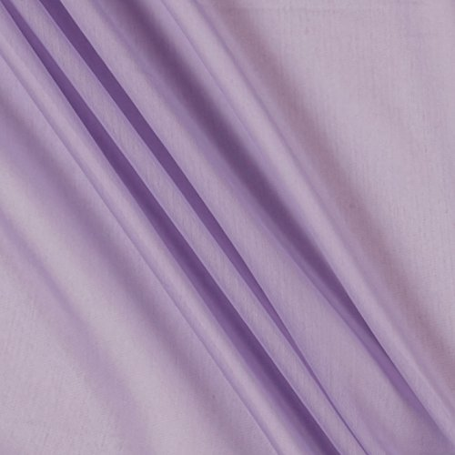 Ben Textiles Two Tone Chiffon Lavender Fabric by the Yard