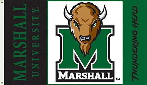 BSI NCAA Marshall Thundering Herd, 91 x 152 cm Flagge mit Ösen