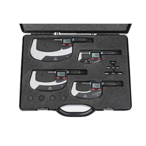 Mahr 4157115 Micromar 40 Ewri - Juego de micrómetros digitales (rango de 0 a 100 mm)