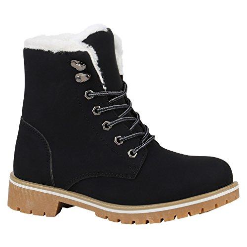 Unisex Damen Herren Warm Gefütterte Damen Worker Boots Stiefeletten Outdoor Schuhe 131612 Hellbraun Weiss Schwarz 40 Flandell