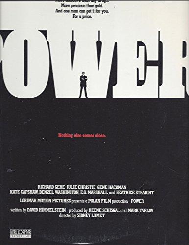 Power, laser disc