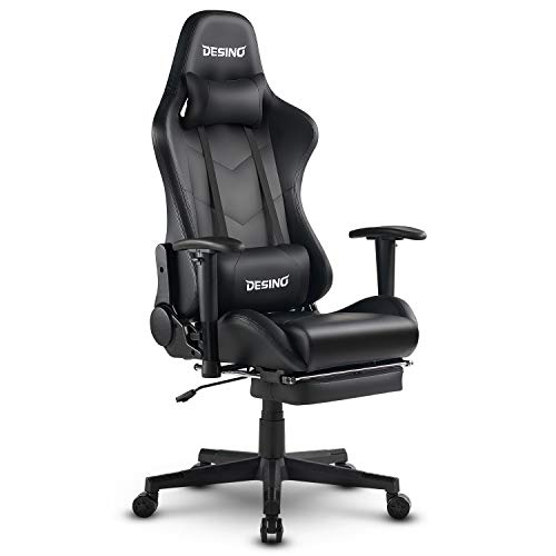 DESINO Gaming Chair Racing Style High Back Computer Game Chair Swivel Ergonomic Executive Office...