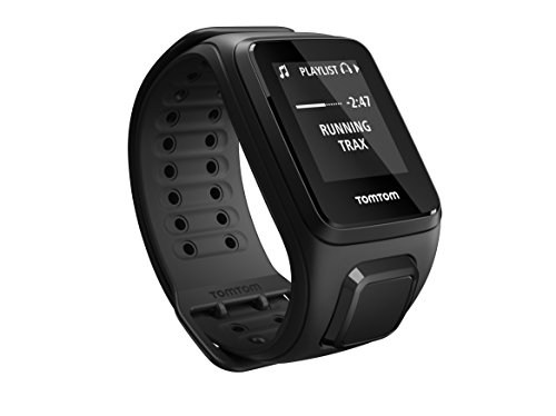 TomTom Spark Music Orologio GPS per il Fitness, Lettore Musicale Integrato, Activity Tracker 24/7, Cinturino Piccolo, Viola
