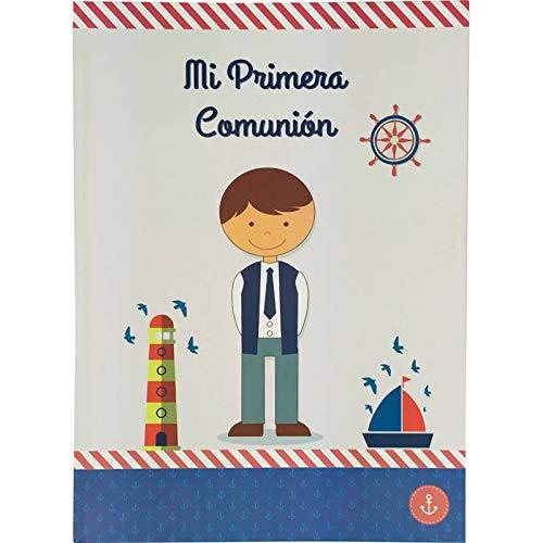 Disok - fotoalbum voor de communie voor jongens - goedkoop fotoalbum voor de communie (evt. niet beschikbaar in het Nederlands).