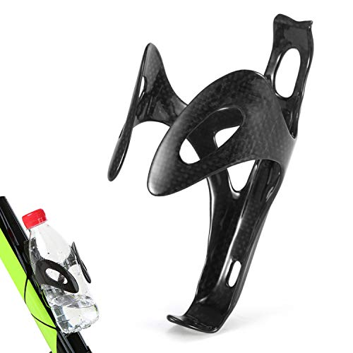Sunydog Gabbia portabottiglie portabottiglie portabici Super Leggera in Fibra di Carbonio per Bici da Strada Mountain Bike