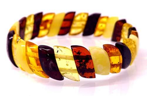 Baltische Bernstein Armband/Damen / Höchsten Qualität mit Zertifikat/Ambermilana