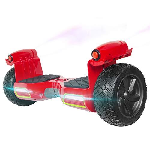 M MEGAWHEELS Scooter Elettrico autobilanciati Hover Boards, da 8,5'con...