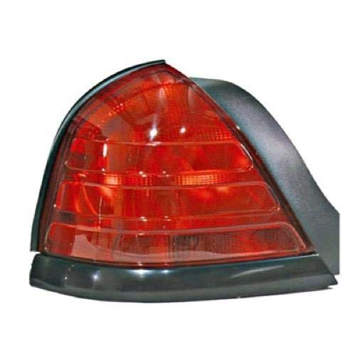 Go-Parts - for 1999 - 2011 Ford Crown Victoria Rear Tail Light Lamp Assembly / Lens / Cover - Left (Driver) Side - (Base Model + LX + Police Interceptor + S + Special Edition) 8W7Z 13405 A FO2800160