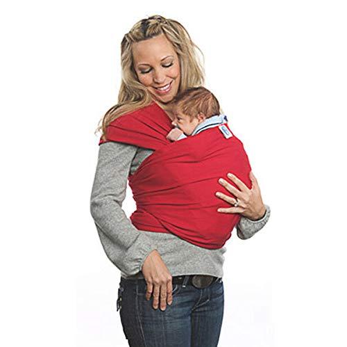 Fular Portabebés, Portador De Bebé Elastico para Llevar Al Bebé Ajustable Baby Carrier para Padres
