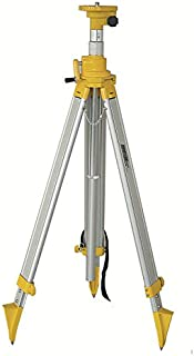 Johnson Level & Tool 40-6330 5/8-Inch 11 Threaded Adjustable Height 49-3/4-Inch to 118-1/8-Inch Tripod