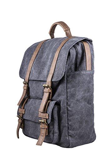 SilverHT 111800040199 - Mochila para laptop (portátil) de hasta 15.4', color gris