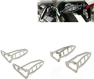 RONSHIN Accesorios de Motos Profesionales,Side Stande Almohadilla para Sujetar el pie Soporte de Moto,para BMW F800R HP2 R1200S