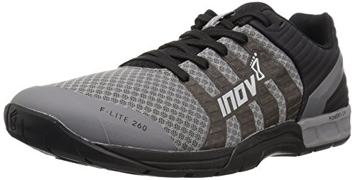 Inov-8 Women's F-LITE 260 (W) Cross Trainer, Grey/Black, 8.5 B US