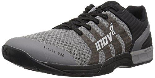 Inov-8 Women's F-LITE 260 (W) Cross Trainer, Grey/Black, 10 B US