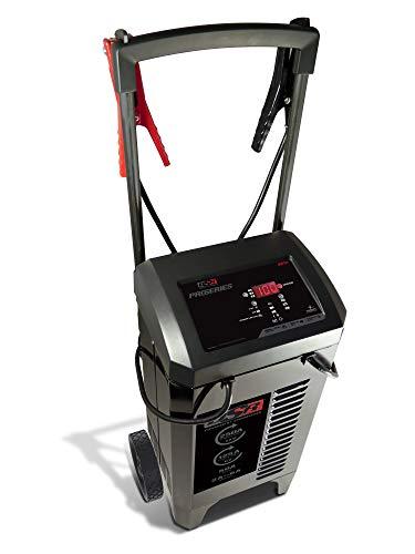 Schumacher DSR131 DSR ProSeries 250 Amp(12V) 125 Amp(6V) 50 Amp 6V/12V Fully Automatic Pro Smart Battery Charger with Engine Starter, Boost, and Maintainer for Automotive Shop/Dealer Use
