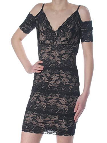 GUESS Vestido ajustado Marcy A-Line para mujer - negro - Small