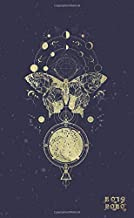 2019 - 2020: Two Year Monthly Pocket Planner | Alchemy Moon Phases + Butterfly (Mystical Art)