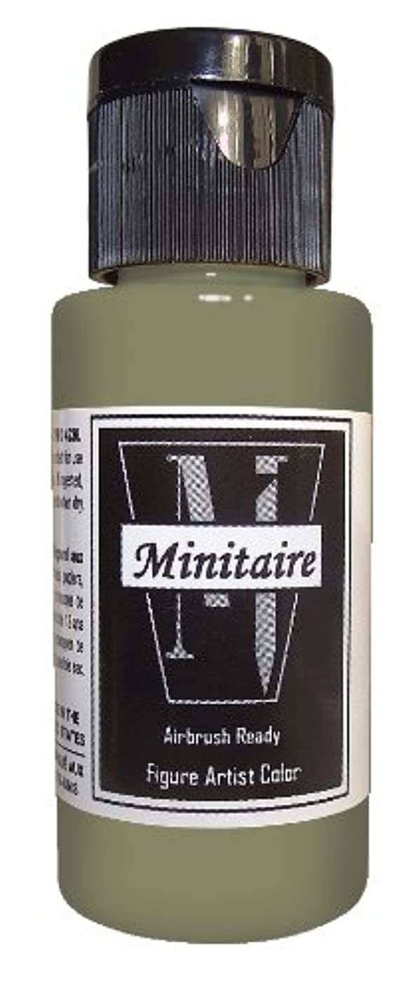 Badger Air-Brush Company Miniature Airbrush Ready Water Based Acrylic Paint Bottle, 2-Ounce, Rotted Flesh