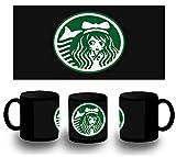 MERCHANDMANIA Tasse komplett schwarz Logo Anime Kaffee Black Mug
