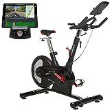 HAMMER Speed Racer S, Speedbike, Indoor Cycle, 22 kg Schwungmasse, LCD-Screen + APP-Steuerung