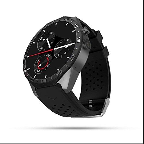 Smart Watch Bluetooth touch sreen Bracciale Orologio Fitness cardiofrequenzimetro smart watch con SIM Card/Fotocamera/contapassi/Romote fotocamera per Android e iOS smartphone