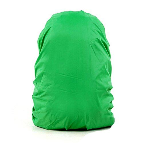 Lot de 2 [GREEN] Camping / Randonnée Twin-côté Backpack Rain Cover, 45-55L