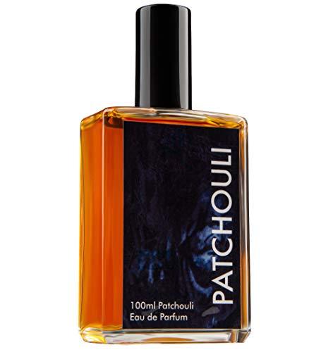 Teufelsküche Patchouli Natur, original comme dans les années 70/80, eau de parfum unisexe gothique dans un flacon en verre de 100 ml