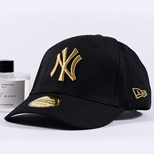 Wollmütze Brief gestickte Baseballmütze männliche Sonnencreme Sonnencreme Kappe Gold Standard einstellbar